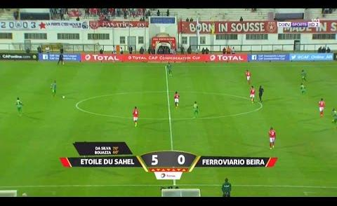 Embedded thumbnail for Ligue des Champions: ES Sahel 5-0 Ferroviaro