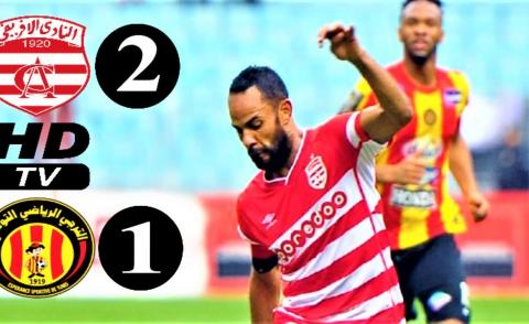 Embedded thumbnail for Tunisie-Ligue 1 (Journée 19): Club Africain 2-1 ES Tunis