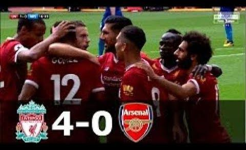 Embedded thumbnail for Liverpool vs Arsenal 4-0 All Goals