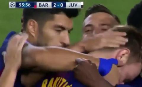Embedded thumbnail for Ligue des Champions: FC Barcelone 3-0 Juventus